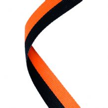 BLACK/ORANGE RIBBON TWO COLOUR